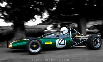 Lotus 51C on the return road after completing a run