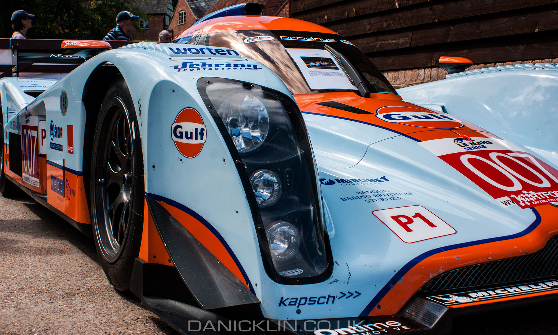 First Aston Martin Prototype race car for two decades